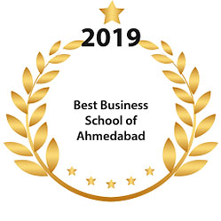 NBS MBA PGDM College 2019 Award for Best Business School of Ahmedabad